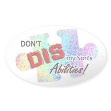 Don't DIS my Son's Abilities! Decal