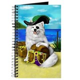 SAMOYED DOG PIRATE Journal