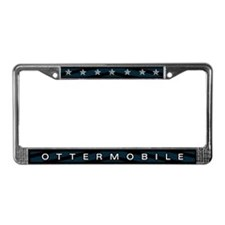 Ottermobile License Plate Frame