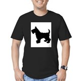 Scottish Terrier Silhouette T