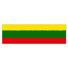 Lithuanian Flag Bumper Sticker