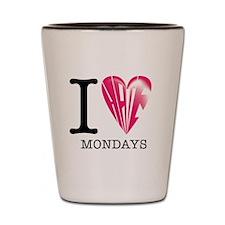 Mondays Shot Glass