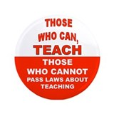 "Unique Teacher 3.5"" Button"