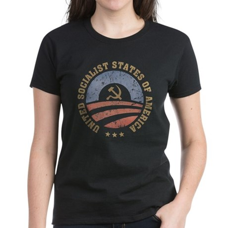 USSA Vintage Women's Dark T-Shirt