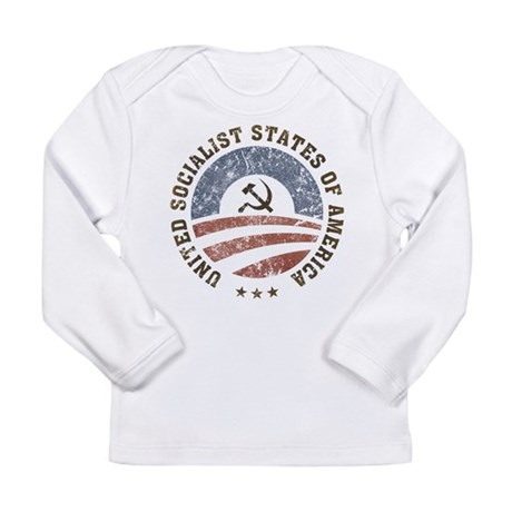 USSA Vintage Long Sleeve Infant T-Shirt