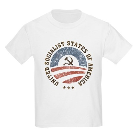 USSA Vintage Kids Light T-Shirt