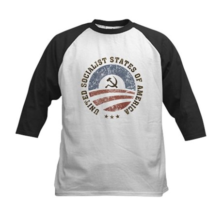 USSA Vintage Kids Baseball Jersey