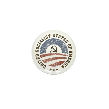 USSA Vintage Mini Button