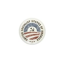 USSA Vintage Logo Mini Button
