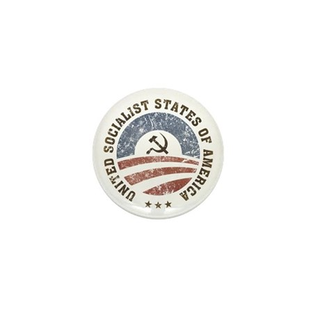 USSA Vintage Mini Button (100 pack)
