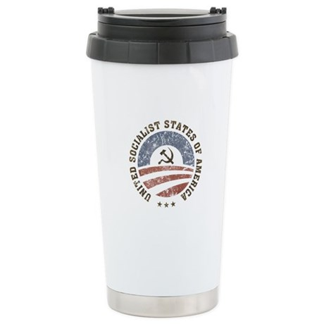 USSA Vintage Ceramic Travel Mug