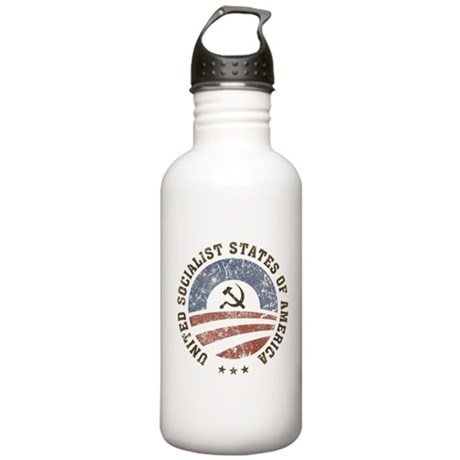 USSA Vintage Stainless Water Bottle 1.0L
