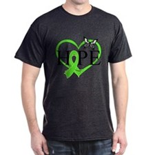 Heart of Hope Lymphoma T-Shirt