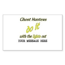 Ghost Hunters Do It/Lights Out Decal