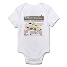 Newbie Parent's Poopie Palette Infant Bodysuit