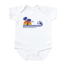 Amelia Island Florida Infant Bodysuit
