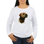 Border Terrier Women's Long Sleeve T-Shirt