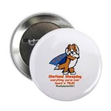 "Sable Super Sheltie 2.25"" Button"