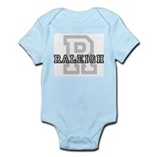 Letter R: Raleigh Infant Creeper