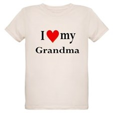 I Love My Grandma: T-Shirt