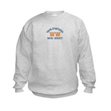 Wildwood NJ - Varsity Design Sweatshirt