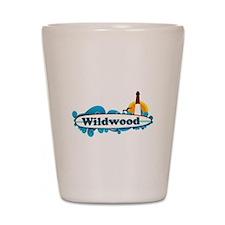 Wildwood NJ - Surf Design Shot Glass