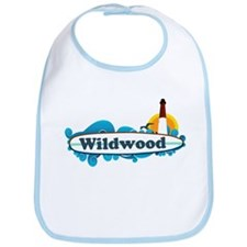 Wildwood NJ - Surf Design Bib