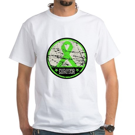 Survivor Circle Lymphoma White T-Shirt