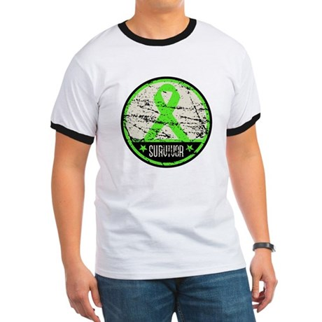 Survivor Circle Lymphoma Ringer T