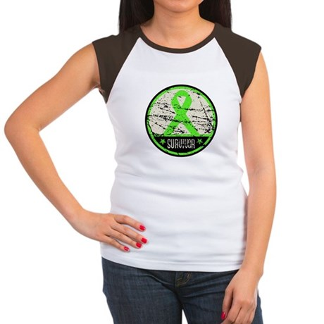 Survivor Circle Lymphoma Women's Cap Sleeve T-Shir