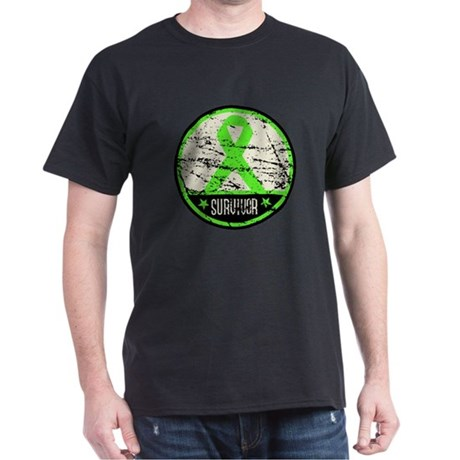 Survivor Circle Lymphoma Dark T-Shirt