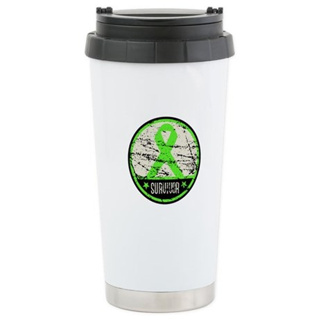 Survivor Circle Lymphoma Ceramic Travel Mug