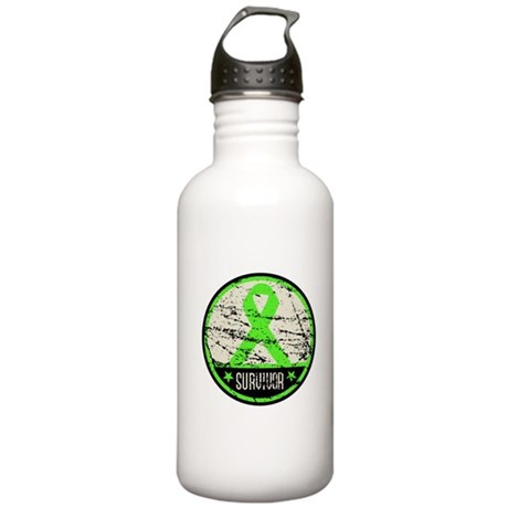 Survivor Circle Lymphoma Stainless Water Bottle 1.