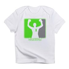 Lymphoma Male Survivor Infant T-Shirt