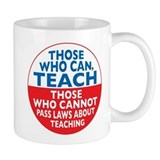 Those Who Can Teach those who Small Mug