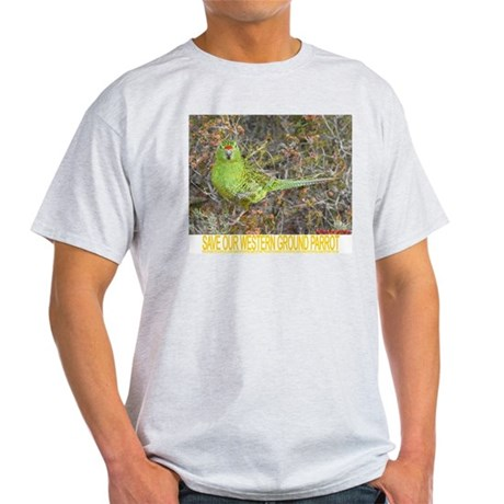 Western ground parrot Light T-Shirt