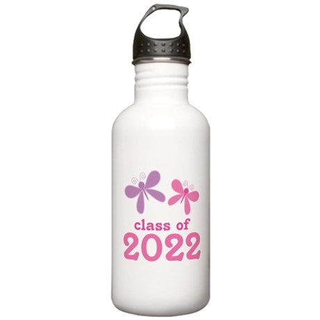 2022 Girls Graduation Stainless Water Bottle 1.0L