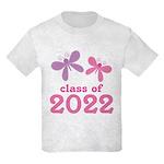 2022 Girls Graduation Kids Light T-Shirt