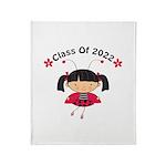 Class Tee Shirts 2022 Throw Blanket