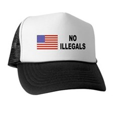 No Illegals Immigration Trucker Hat