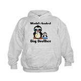 Coolest big brother penguin Hoodie