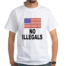 No Illegals Immigration Shirt