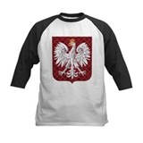 Polish Eagle Plaid Crest Tee