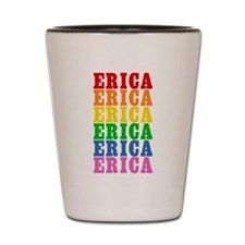 Rainbow Name Shot Glass