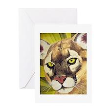 Cougars Greeting Card