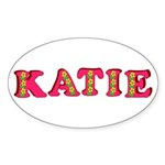 Katie Sticker (Oval 10 pk)