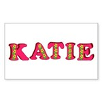 Katie Sticker (Rectangle 50 pk)