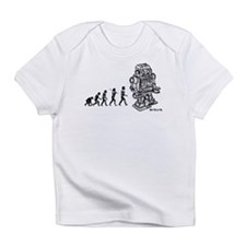 ROBOT EVOLUTION Infant T-Shirt