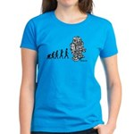 ROBOT EVOLUTION Women's Dark T-Shirt