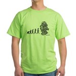 ROBOT EVOLUTION Green T-Shirt